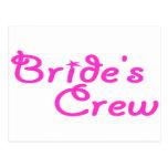 Brides Crew Postcards
