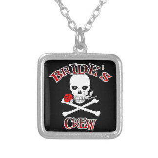 Bride's Crew Silver Plated Necklace
