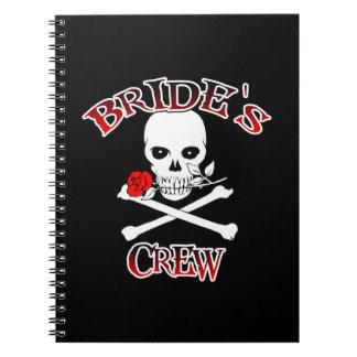 Bride's Crew Spiral Note Books