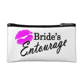 Brides Entourage Makeup Bag