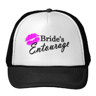 Brides Entourage Cap