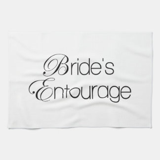 Bride's Entourage Hand Towels