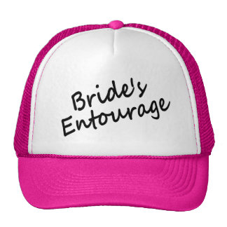 Bride's Entourage Mesh Hats