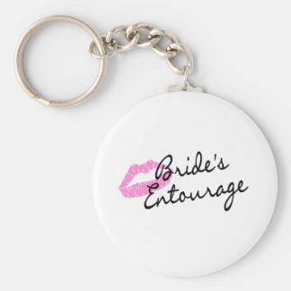 Brides Entourage Lips Key Ring