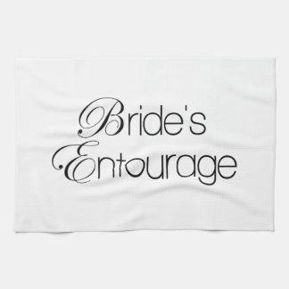 Bride's Entourage Tea Towel