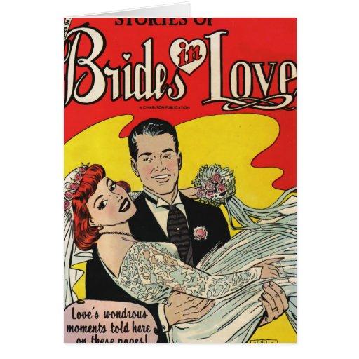 Brides Love Greeting Card