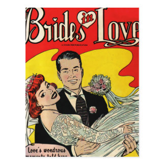 Brides Love Postcard