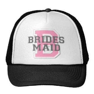 Brides Maid Cheer Cap