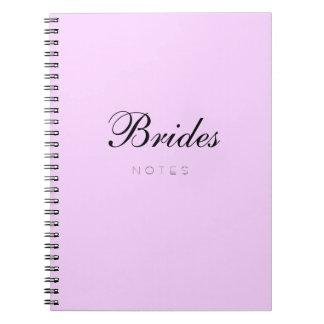 Brides Notes Pretty Pink Journal