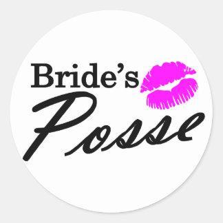 Brides Posse Stickers