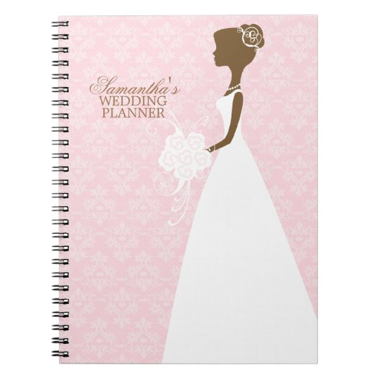 Bride's Silhouette Wedding Planner Notebooks