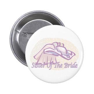 Brides Sister Button