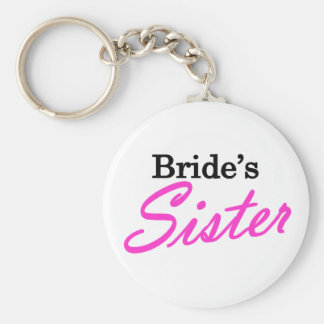 Bride's Sister Keychains