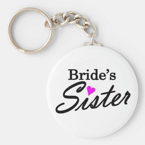 Brides Sister Keychains