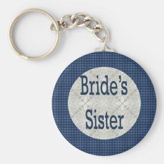Brides Sister Keychain