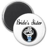 Brides Sister Magnets