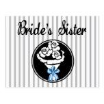 Brides Sister Postcard