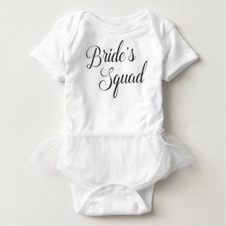Bride's Squad Baby Baby Bodysuit