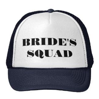 Bride's Squad Bachelorette Party Hatt Cap