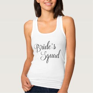 Bride's Squad Bridesmaid Tank Top