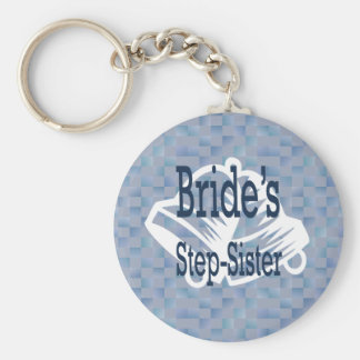Brides Step-Sister Keychain