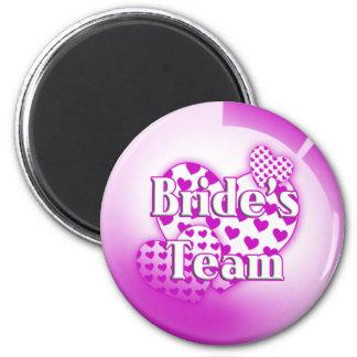 Brides Team Magnet
