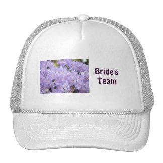 Bride's Teams Truckers hats Wedding Party hats