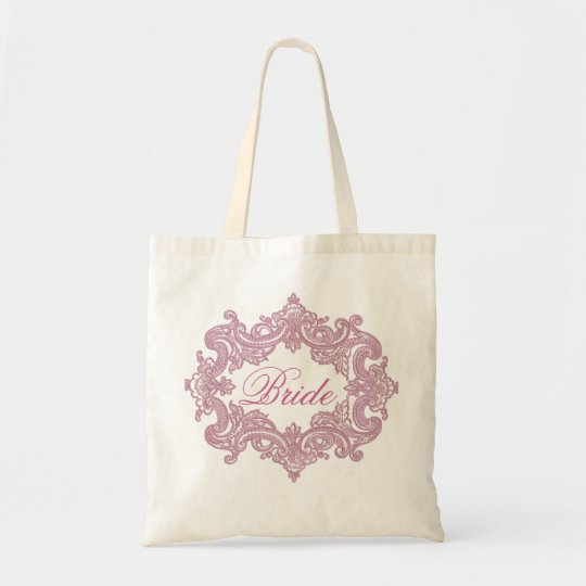 Bride's tote bag