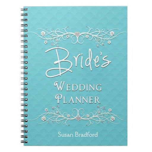 BRIDE'S WEDDING PLANNER NOTEBOOK - SPIRAL NOTE BOOKS