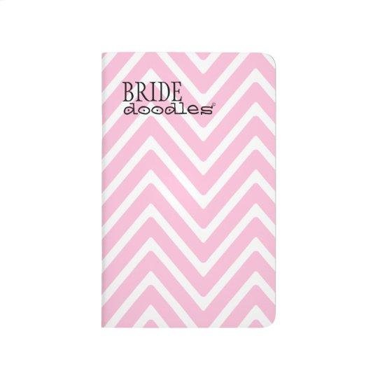 Brides Wedding To Do List Pink Chevron Journal