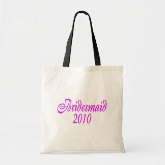 Bridesmaid 2010 (Pink) Budget Tote Bag