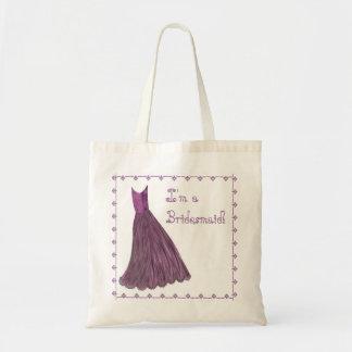 Bridesmaid Bag - LILAC PURPLE Bridesmaid Dress