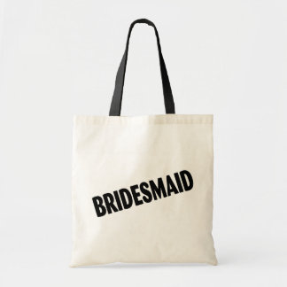 Bridesmaid (Bold Black)