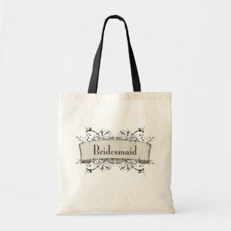 *Bridesmaid Budget Tote Bag