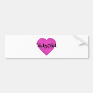 Bridesmaid Bumper Stickers