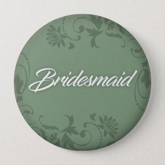 Bridesmaid Button for Tote