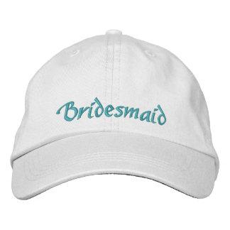 Bridesmaid Cap Embroidered Hat