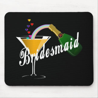 Bridesmaid Champagne Toast Mouse Pad