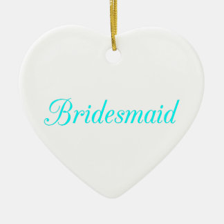 Bridesmaid Christmas Ornament