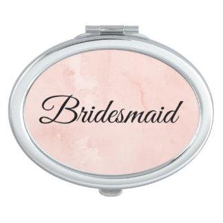 """Bridesmaid"" compact mirror. Vanity Mirrors"