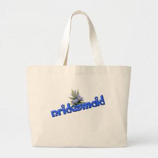 Bridesmaid Cute Wedding Bridal Tote Bag