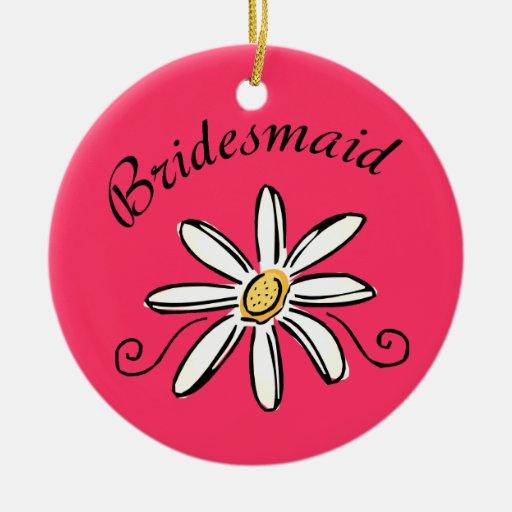 Bridesmaid Christmas Tree Ornament