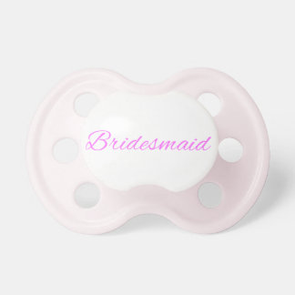 Bridesmaid Pacifiers