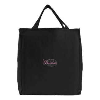Bridesmaid Embroidered Tote Bags