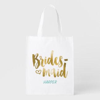 Bridesmaid Fabric Gift Bag