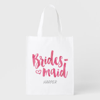 Bridesmaid Fabric Gift Bag