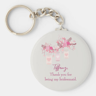 Bridesmaid Favour Gift Key Ring