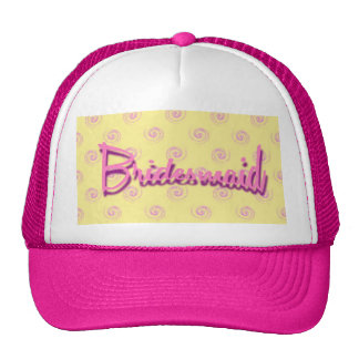 Bridesmaid hat