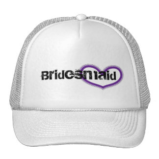 Bridesmaid Mesh Hats