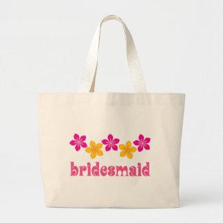 Bridesmaid Hawaiian Tropical Flowers Wedding Bag